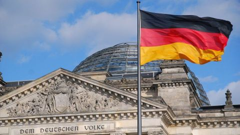 tysk flagga
