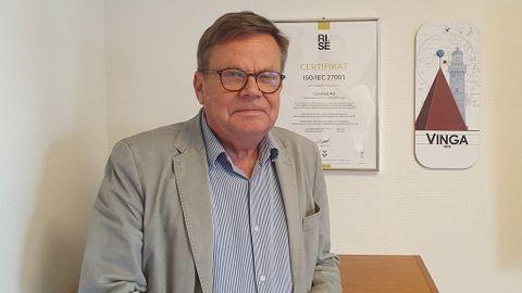 Anders Törnqvist, vd på e-signeringsbolaget Comfact