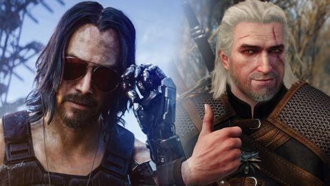 Cyberpunk 2077 och The Witcher 3