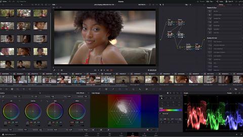 Davinci Resolve på nya Macbook Pro