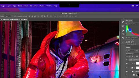 Macbook Pro med flärp