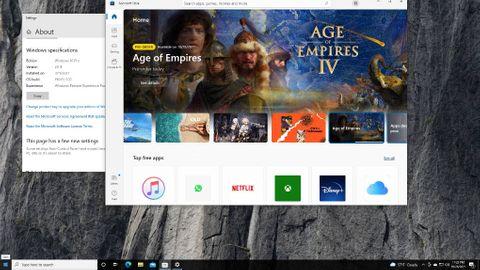 Nya Microsoft-butiken på Windows 10