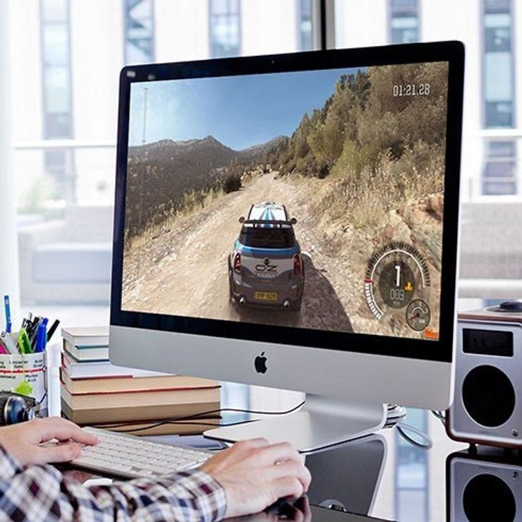 Spela på Mac
