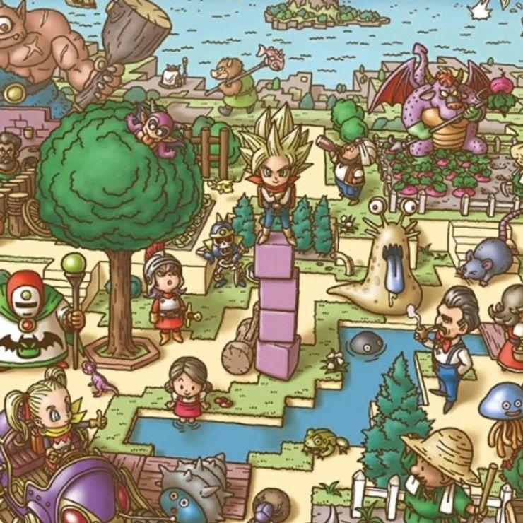 Toppnyhet dragon quest builders 2