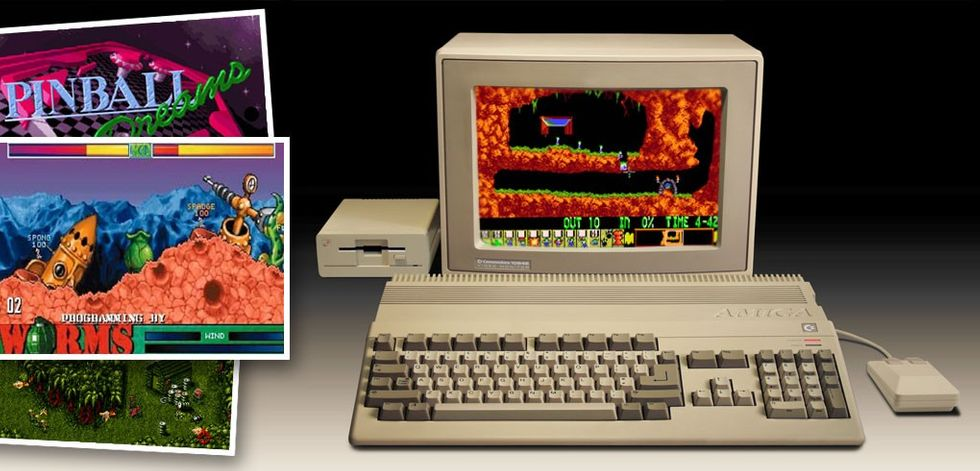 Amiga spel