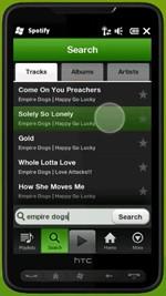 Spotify Windows Phone 7