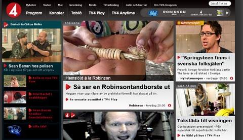 Tv4, Tv4.se