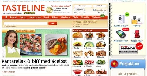 Tasteline, Tasteline.se