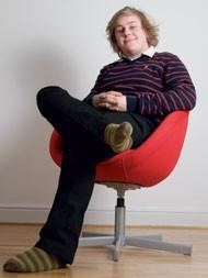 Anton Johansson, affärsutvecklare på Twingly.