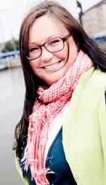 Maria Gustafsson, projektledare för Webcoast, foto: Nils Linde