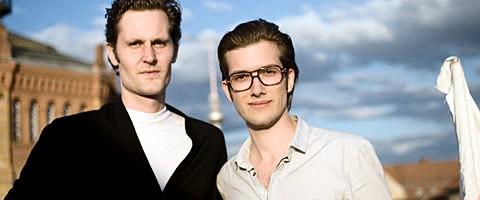 Eric Wahlforss och Alexander Ljung är grundarna av Soundcloud.