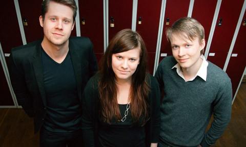 Lars Lundberg, Regina Norrstig och Tobias Lundqvist. Foto: Fredrik Wass.