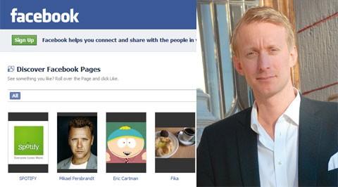 Martin Ingemansson, nordisk försäljningschef på Facebook.