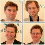 Petter Norberg, Magnus Norberg, Markus Aglander och Niklas Nyman.