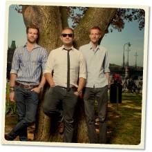Arno Smit, Daniel Daboczy och Eric Weber. Foto: Martin Stenmark