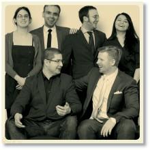 Övre raden fr vänster: EmilyMay Green, Gracjan Polak, Lukas Duczko, Nazli Sahin. Nedre raden: Mariusz Rak, Viktor Wrede