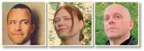 Benoit Fallenius, Ann-Kristin Ledung och Clas Person.