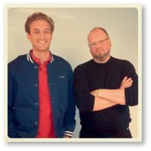 Frank Schuil och Ants Patrik Maran.