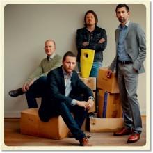 Micael Widell, Fredrik Norberg, Dan Nilsson och Dinesh Nayar. Foto: Martin Stenmark