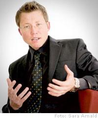 Joel Rudh menar att det finns ett svalt intresse för molntjänster inom företagen.