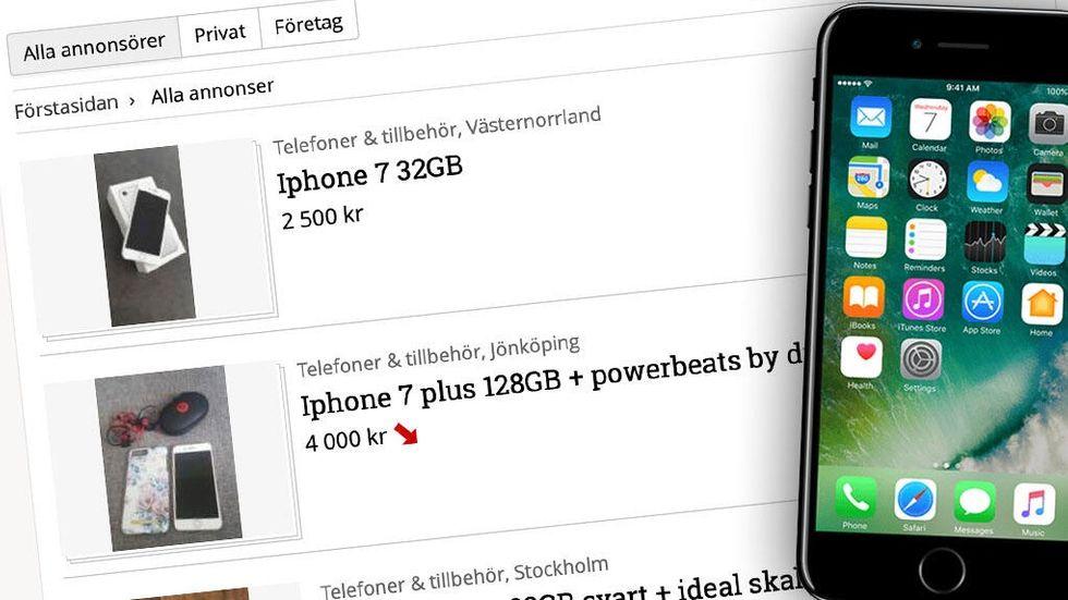 Köpa sälja Iphone begagnat