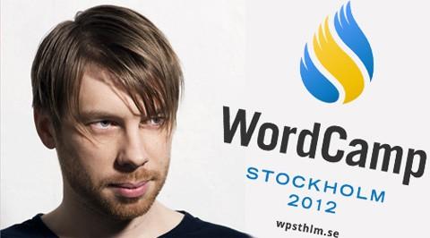 Thord Daniel Hedengren, arrangör för WordCamp