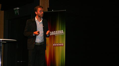 David Wolgers, digital brand manager på Vattenfall