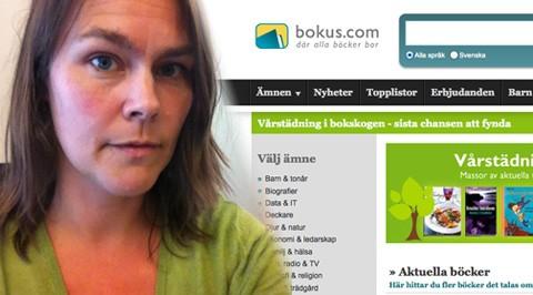 Annika Bidner, webbanalytiker och interaktionsdesigner på Bokus
