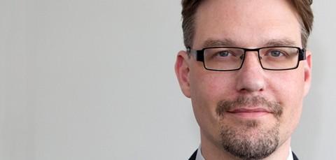 In i kaklet. Björn Borschos är ny cio för RIF-projektet, arbetet för Rättsväsendets informationsförsörjning. Projektet är nu på väg in i etapp två, beslut ska fattas i höst.