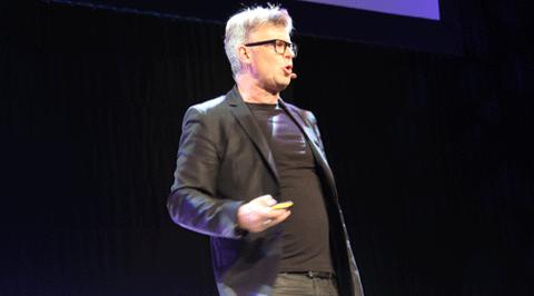 Göran Adlén på Webbdagarna i Stockholm