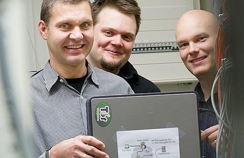 Stefan Lindskog, Tobias Pulls och Stefan Alfredsson