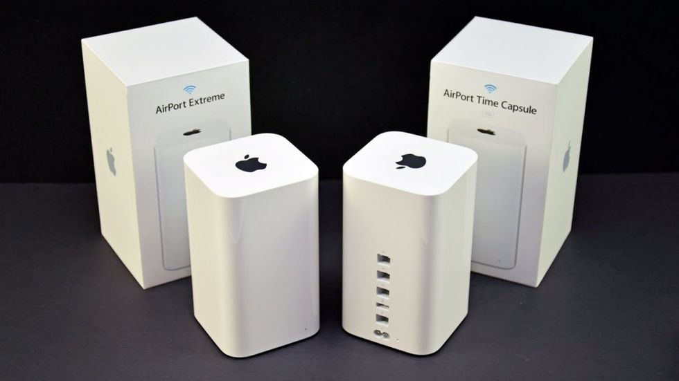 Airport Extreme och Time Capsule