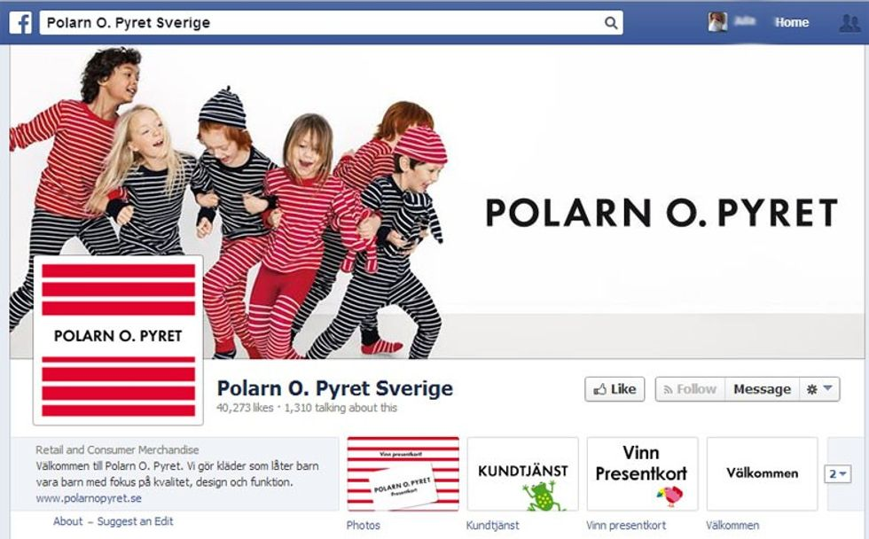 Polarn o Pyret på Facebook