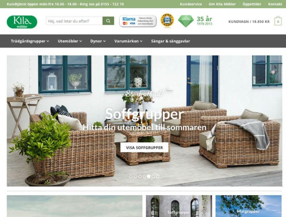 Kila Möbler satsar på Woocommerce