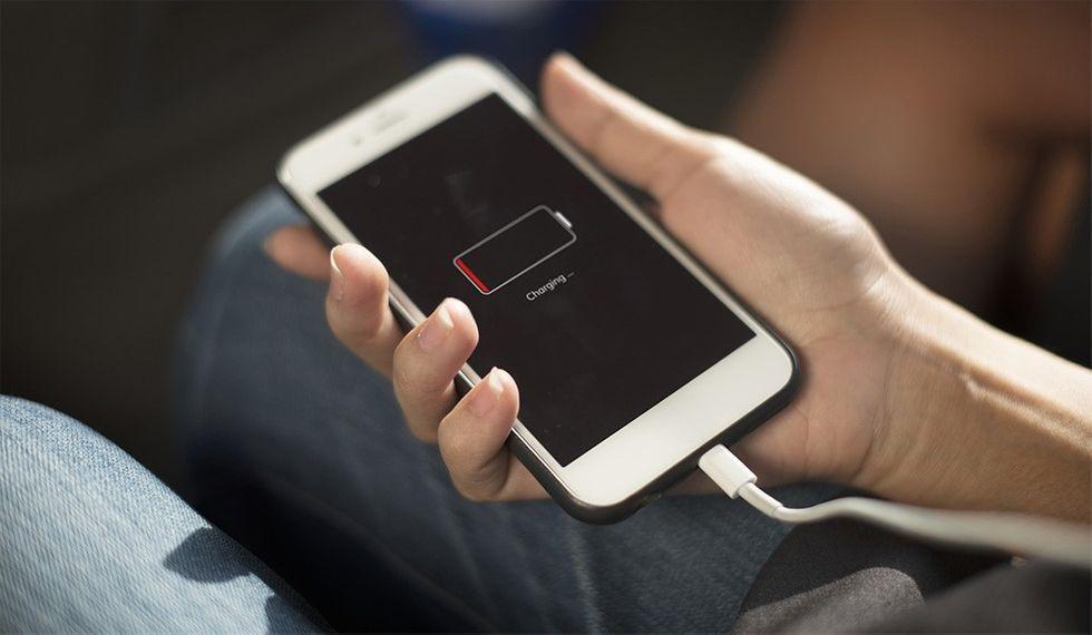 Iphone batteritid