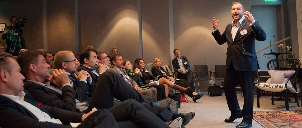 Johan Magnusson på CIO Governance 2014.