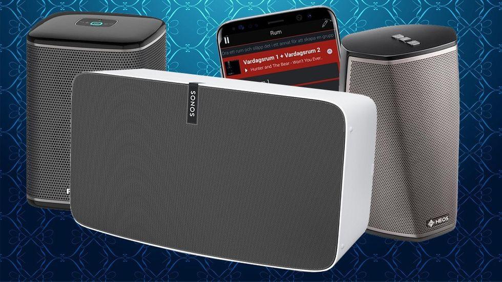 Test bästa multiroom-högtalare