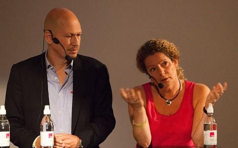 Staffan Rosell och Cilla Benkö