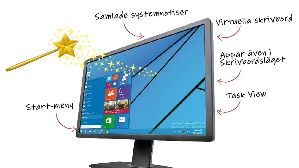Windows 10 finesser