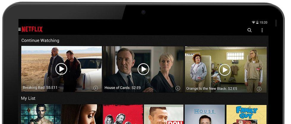 Netflix på padda