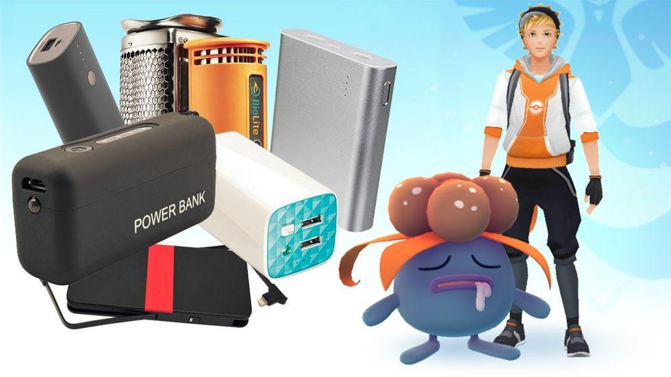 Externa batterier powerbank