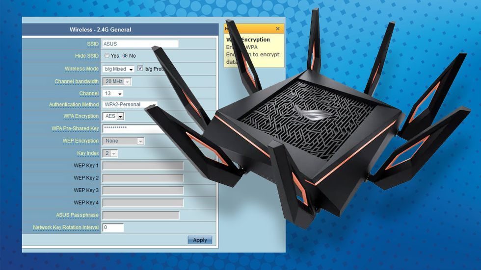 router installation