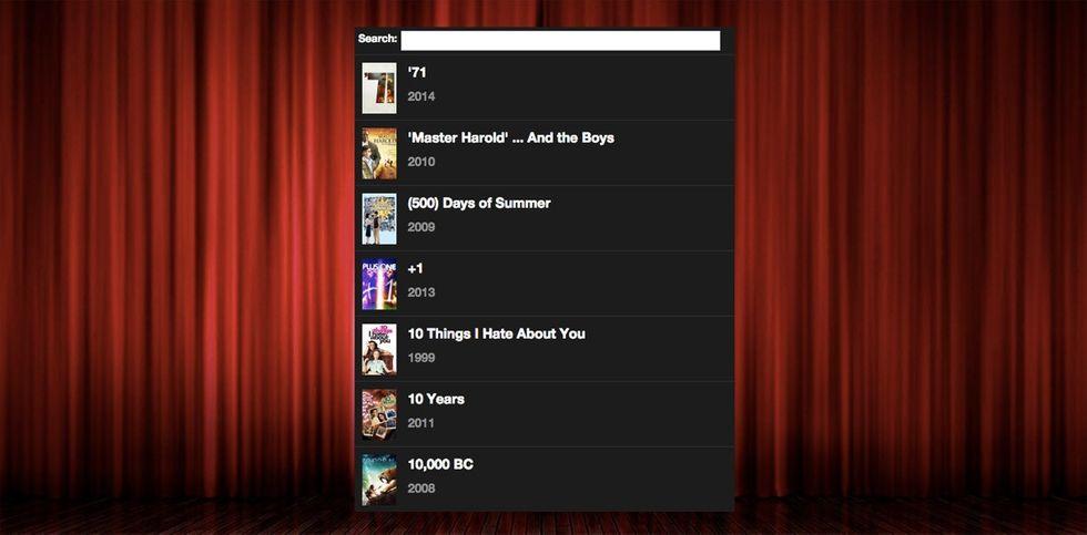 Popcorn Time webbläsare