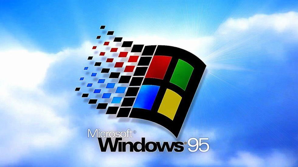 Windows 95 fyller år