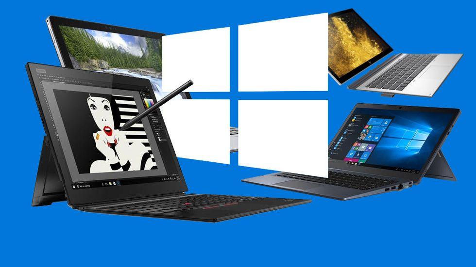 Surfplattor Windows 10