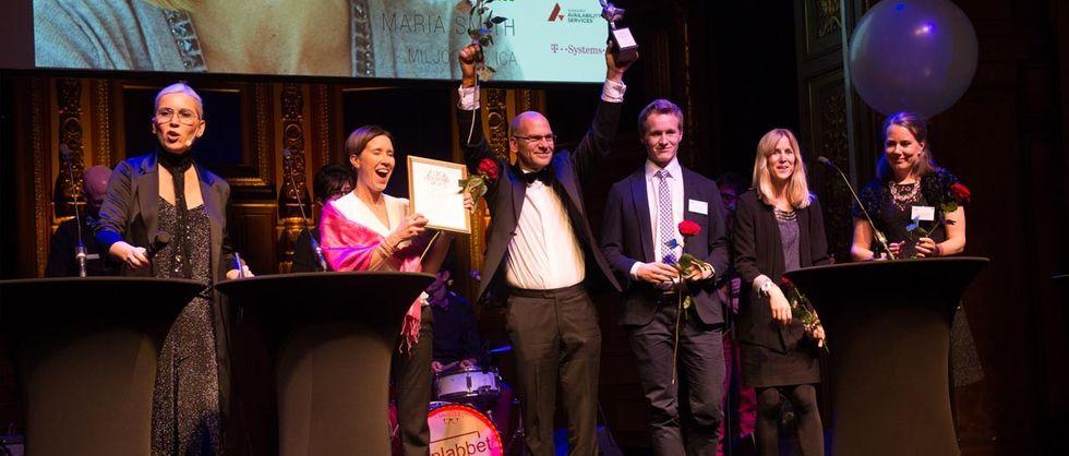 Klimaträtt på CIO Awards