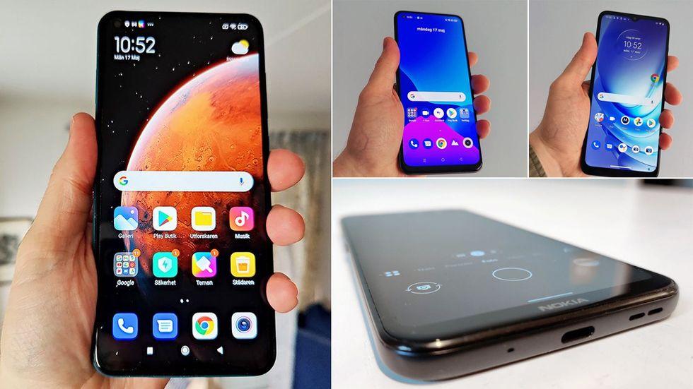 Bästa billiga mobiler test