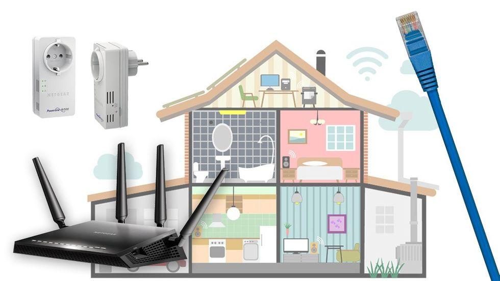 Smarta hemmet - koppla ihop