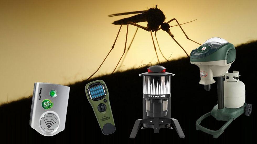 få bort mygg och knott