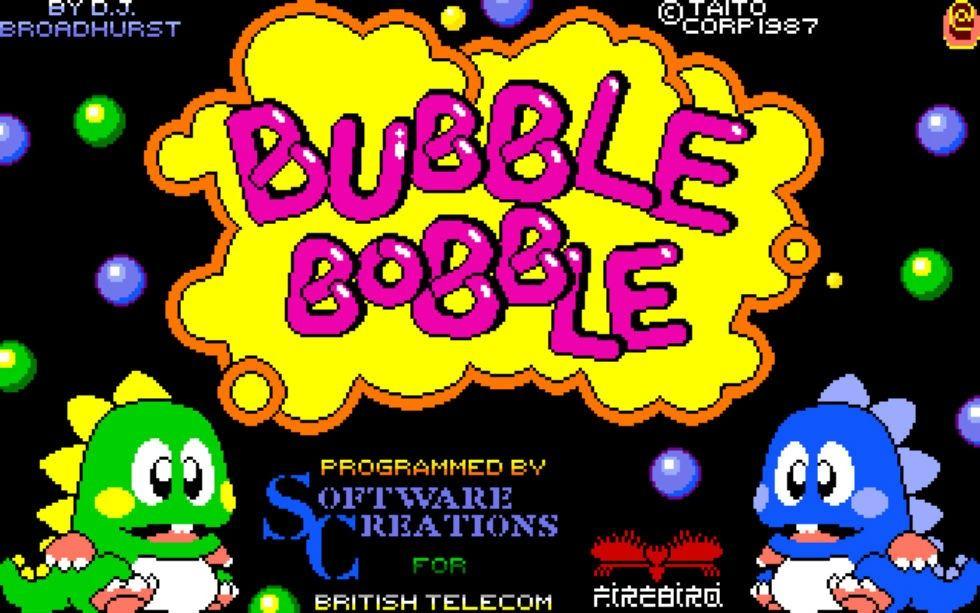 bubble bobble amiga